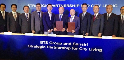 BTS Group and Sansiri Strategic Partnership for City Living