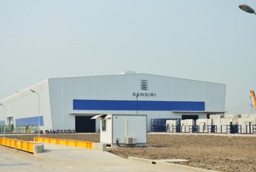 โรงงานผลิตแผ่นคอนกรีตสำเร็จรูป บริษัท แสนสิริ จำกัด (มหาชน)